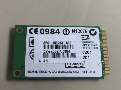 wifi laptop compaq presario cq40 bcm94312mcg 459263-002