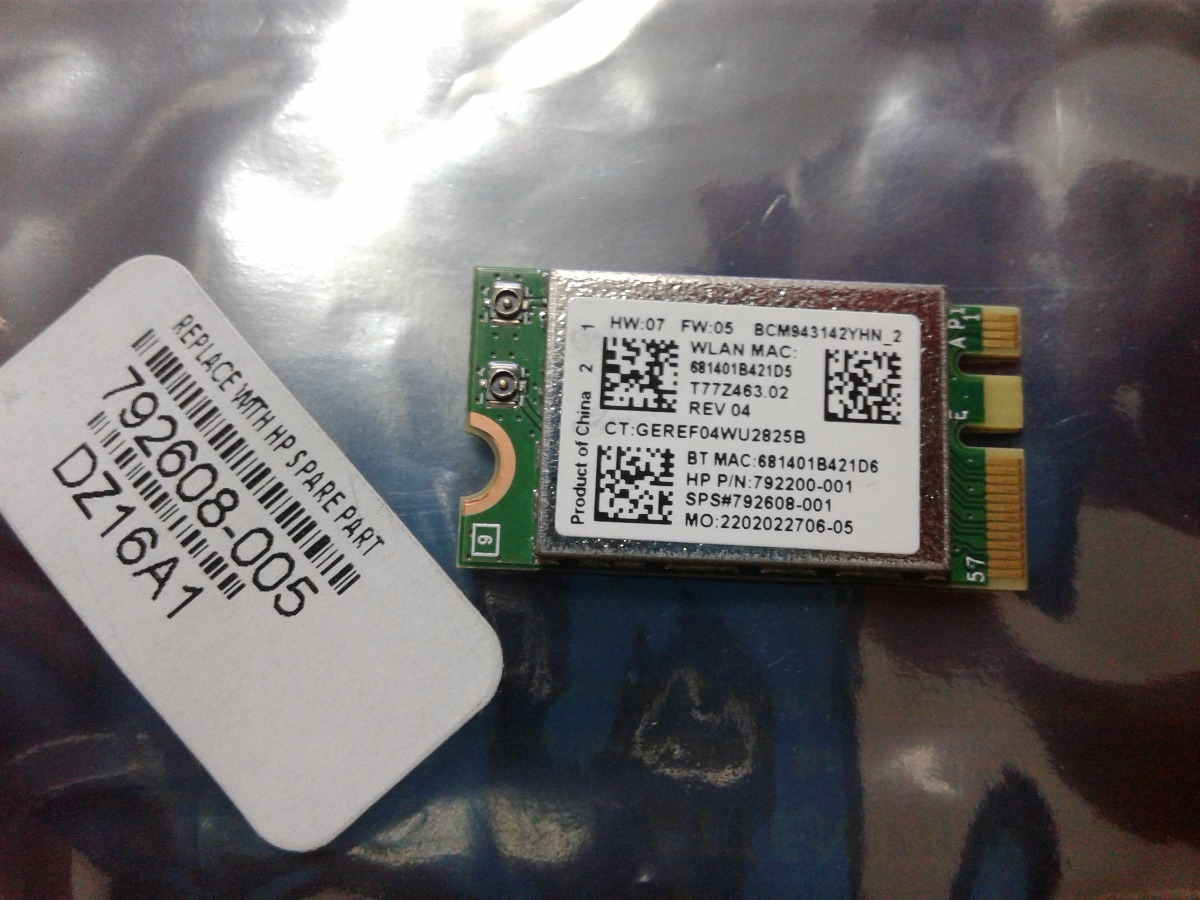 HP ENVY 15t-j000 Broadcom WLAN Driver Download