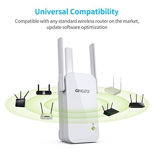 wifi range extender ginozo r3 inalámbrico n300 repetidor wi