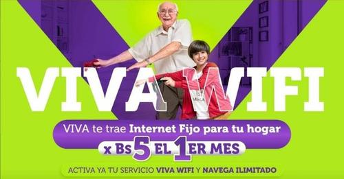 wifi viva ilimitado hogar