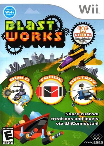 wii   blast works   nuevo