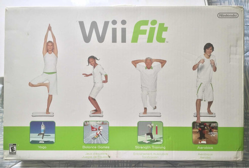 wii fit (tabla y juego)