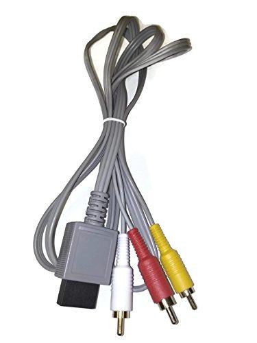 wii juego de cables ac fuente de alimentación /adaptador av