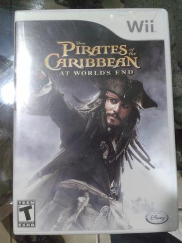 wii juego piratas del caribe
