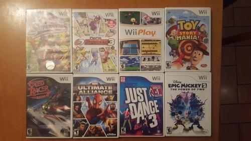 wii juegos originales. como nuevos. oportunidad!!