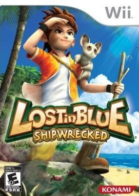 wii  lost in blue shipwrecked   nuevo  envio gratis