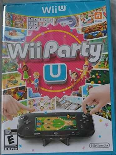 wii party u game only - no incluye control remoto