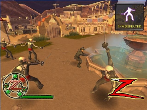 wii  the destiny of zorro