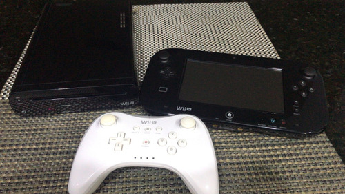 wii u 32 gb + 2 juegos + 1 control