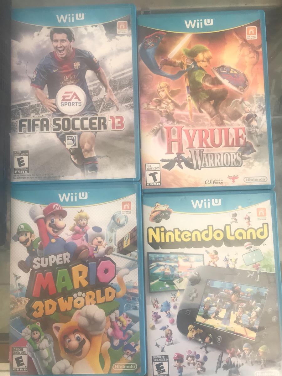 Wii U 32gb Control Extra Y 3 Juegos Fisicos Mario Zelda 4 700 00