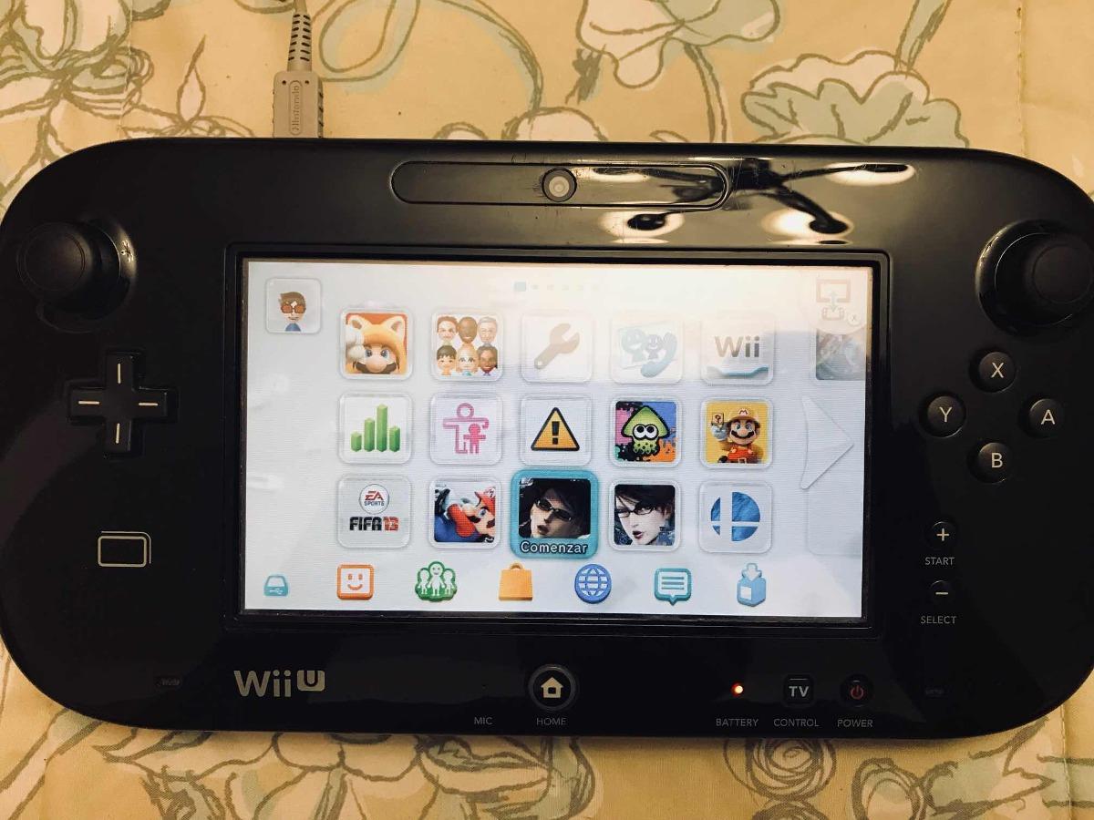 Wii U Disco Duro 1 Tb Juegos Usado En Excelente Estado