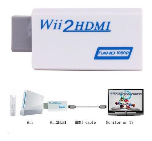wii2hdmi - adaptador hdmi para wii - imagem hd/fullhd
