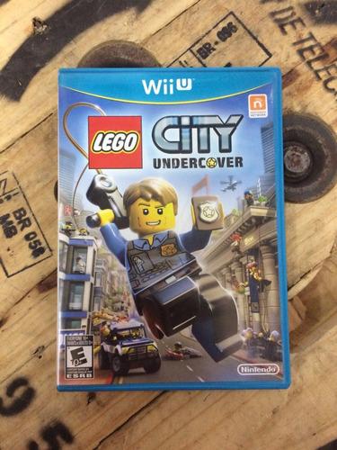 wiiu lego city undercover usado