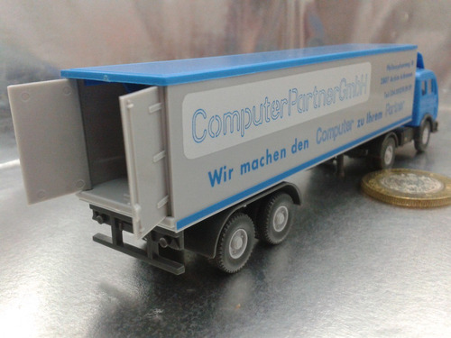 wiking - trailer mercedes benz m.i. germany berlin cpg