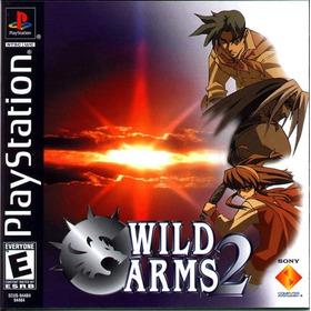 Wild Arms 2 - Psx - Playstation 1 - Frete Gratis.