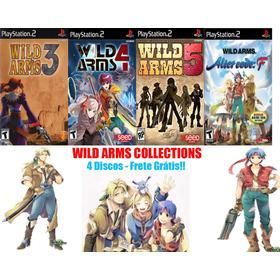 Wild Arms Rpg Coleção Play 2
