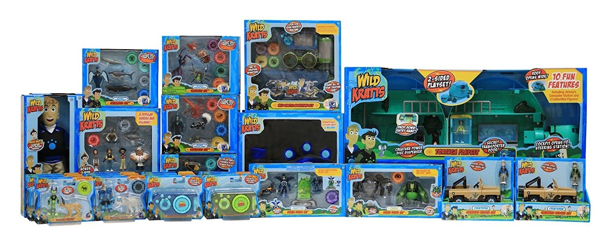 Creature Usvqzmp Powejuguetes19 Paquete 2 De 447 Toys Kratts Wild xEWQerdCoB