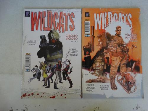 wildcats vol 1 e 2! círculo vicioso! pixel 2007!