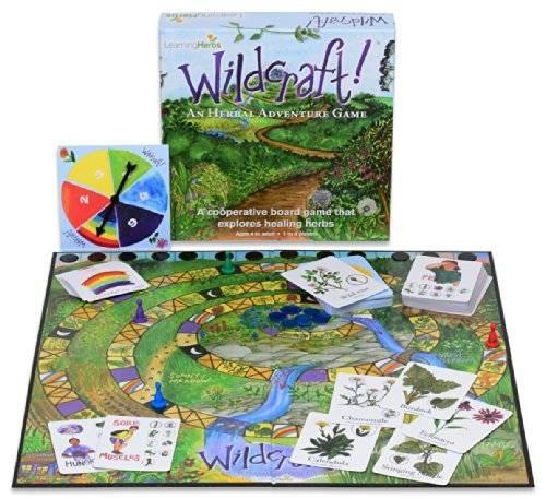 wildcraft! un juego de aventuras herbal un juego de mesa coo