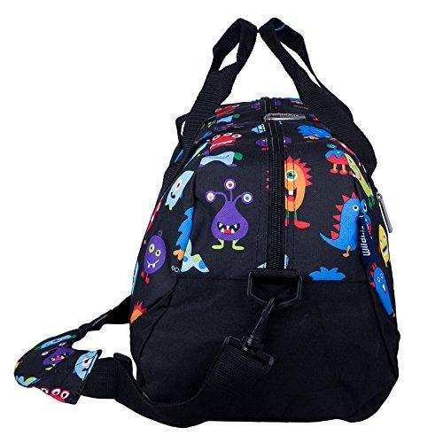wildkin overnighter duffel bag, features moistureresistant l