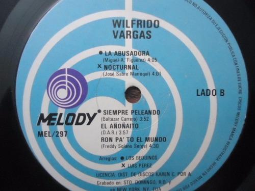 wilfrido vargas / el africano vinyl lp acetato