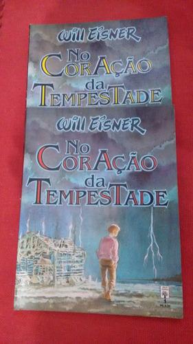 will eisner - no coração da tempestade - 2 volumes