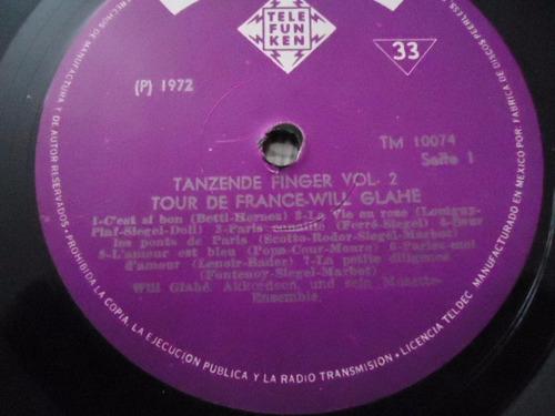will glahe / tour de france vinyl lp acetato