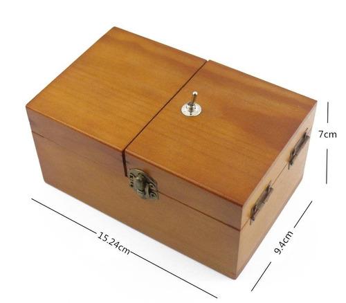 willcomes madera se gira fuera de la caja inú + envio gratis