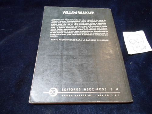 william faulkner su vida y su obra irving howe
