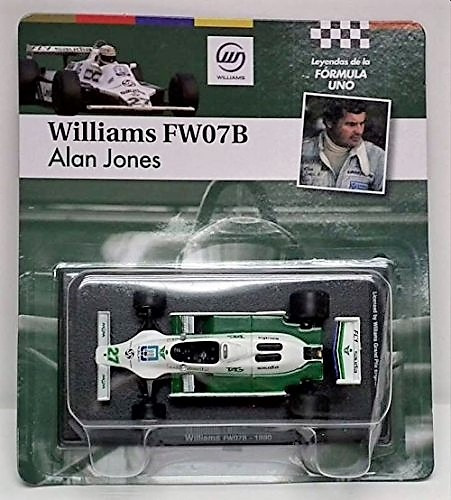 williams fw07 alan jones 1980 world champ - leyendas f1 1/43