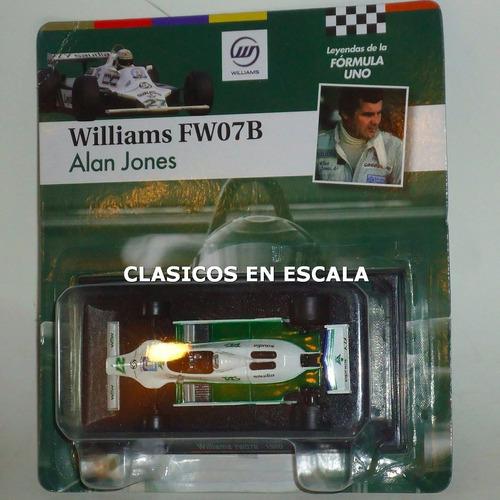 williams fw07 alan jones 1980 world champ. leyendas f1 1/43