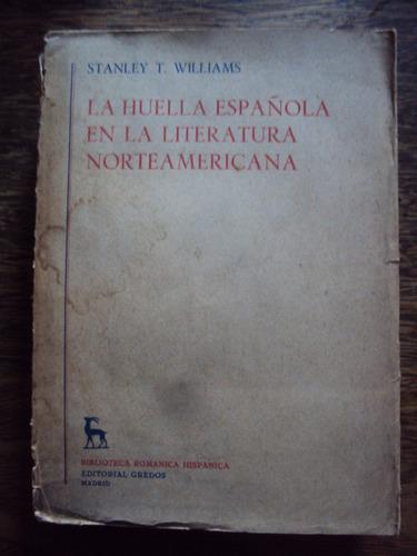 williams la huella española en la literatura norteamericana