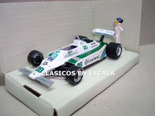 willians ford fw078 reutemann 1980 - coleccion fangio 1/43