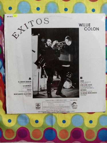 willie colon lp  éxitos  1990 (el gran barón)