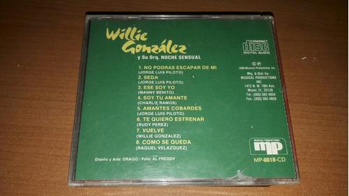willie gonzález cd sin comparación tito nieves frankie ruiz