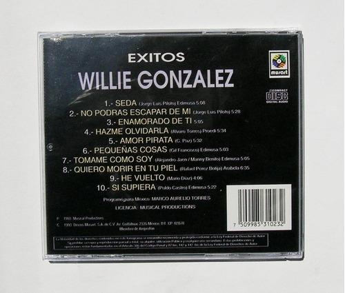 willie gonzalez exitos cd mexicano 1993