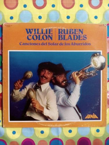 willie/ruben lp 1982  canciones del solar de los aburridos