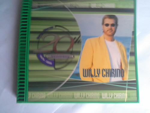 willy chirino 20 aniversary sony discos   cd original