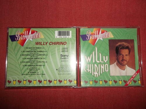 willy chirino - brillantes cd usa ed 1994 mdisk