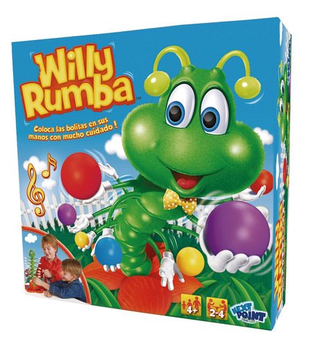 willy rumba juego de mesa original de next point