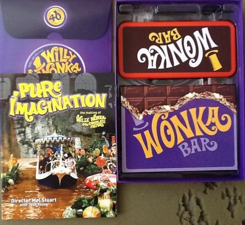 willy wonka y la fabrica de chocolate 40 anniversary