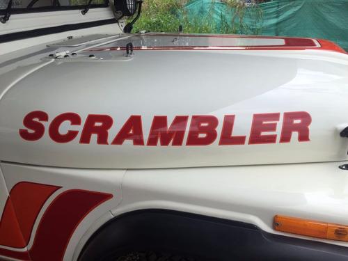 willys cj8 scrambler modelo 1986 en perfecto estado
