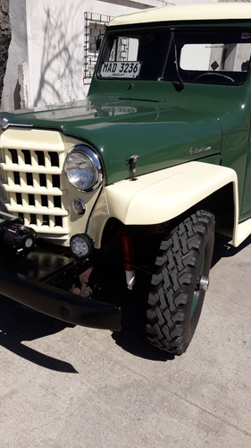 willys overland pickup 4x4  única