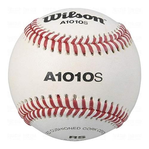 wilson a1010s blema baseballs paquete de bola 12