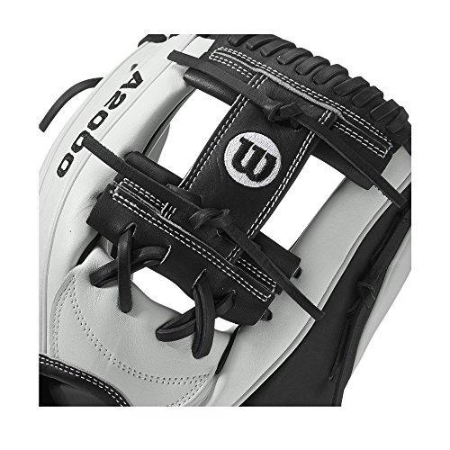 wilson a2000 h1175 fastpitch glove, blanco
