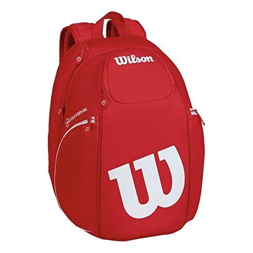 12d82a4e97 Wilson Pro Staff Tenis Mochila, Rojo / Blanco - $ 4,334.00 en ...