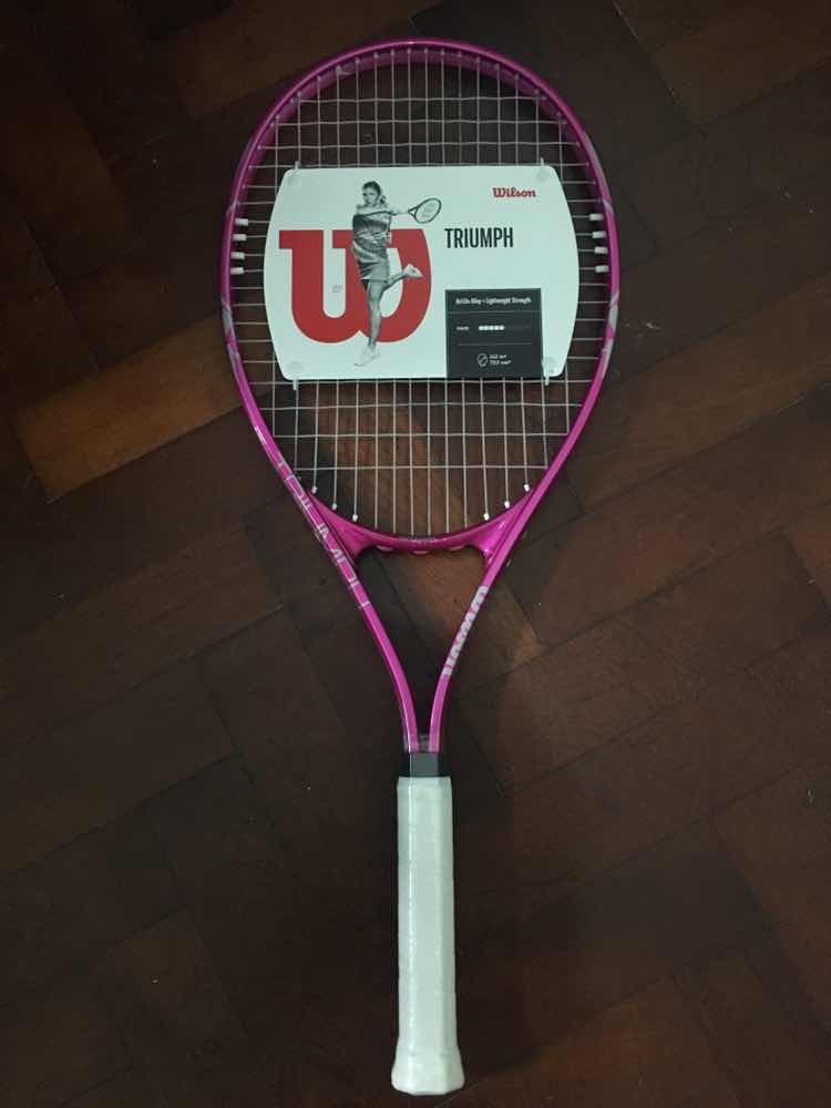 3180c99d3bd Wilson Triumph Raqueta De Tenis