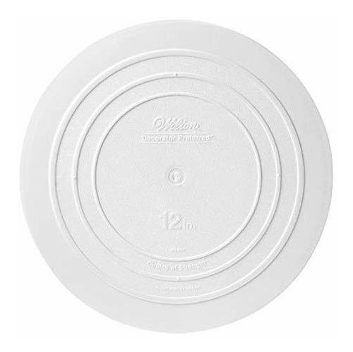 wilton 302-4102 placa separadora de borde liso para pasteles