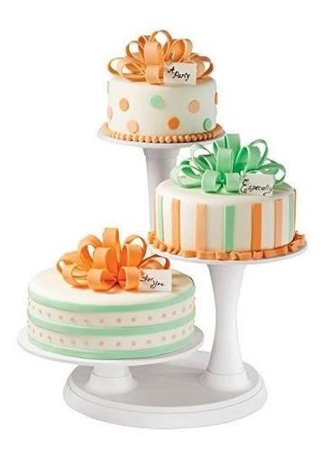wilton 3tier pillar cake stand