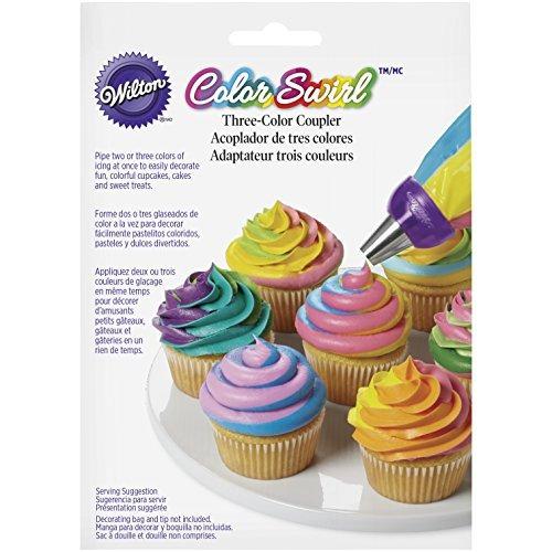 wilton colorswirl 3 color acoplador,